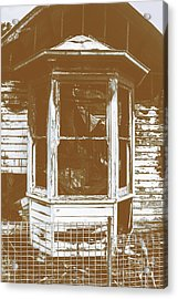 Old Wooden Burnt House Destroyed By Fire Acrylic Print by Jorgo Photography - Wall Art Gallery