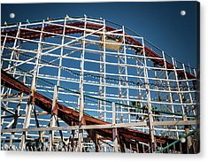 Acrylic Print featuring the photograph Old Woody Coaster by T Brian Jones