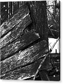 Olddoornextdoor16-18 Acrylic Print by Curtis J Neeley Jr