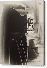 Olde Tyme Camera Acrylic Print by Ann Tracy