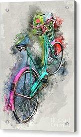 Olde Vintage Bicycle Acrylic Print