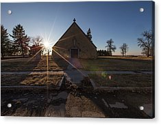 Acrylic Print featuring the photograph Oldham, Sd by Aaron J Groen
