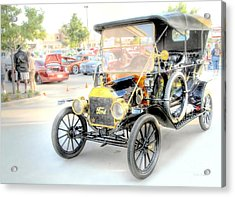 Acrylic Print featuring the photograph Oldie But Goodie by Dyle   Warren