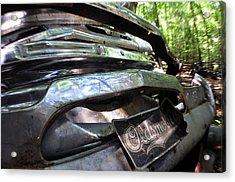 Oldsmobile Bumper Detail Acrylic Print