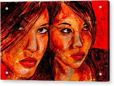 Olga'a Mirror Acrylic Print