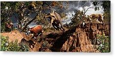 Oligocene Mural Acrylic Print