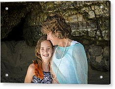 Olivia And Toni Acrylic Print by Alex Lapidus