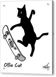 Ollie Cat Acrylic Print
