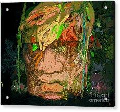 Olmec Man Acrylic Print