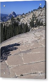 Olmstead Point Acrylic Print by Stan and Anne Foster