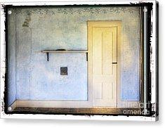 Olson White Door Acrylic Print