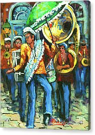 Olympia Brass Band Acrylic Print by Dianne Parks