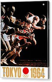 Olympic Games, 1964 Acrylic Print