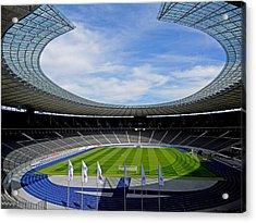 Olympic Stadium Berlin Acrylic Print