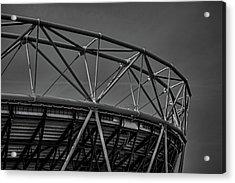 Olympic Stadium Acrylic Print by Martin Newman