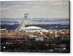 Olympic Stadium  Acrylic Print by Reb Frost