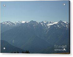 Olympics From Hurricane Ridge Acrylic Print