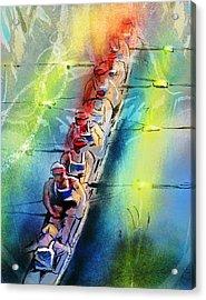 Olympics Rowing 02 Acrylic Print
