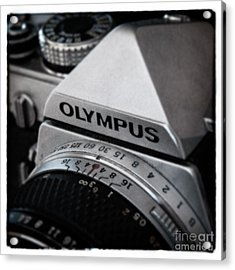 Acrylic Print featuring the photograph Om-1 - D010028b by Daniel Dempster