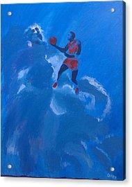Omaggio A Michael Jordan Acrylic Print