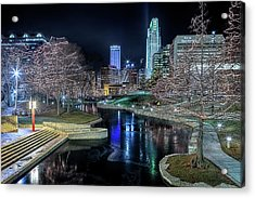 Omaha Holiday Lights Festival Acrylic Print