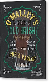 O'malley's Old Irish Pub Acrylic Print