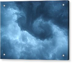 Acrylic Print featuring the photograph Ominous  by Angie Rea