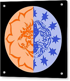 Omniscire Eclipse Logo Acrylic Print by Dawn Sperry