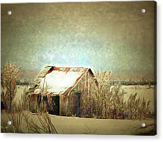 On A Cold Winter's Day Acrylic Print
