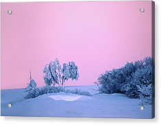 On A Magical Wintery Morning.... Acrylic Print