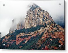 Acrylic Print featuring the photograph On A Misty Day by Phyllis Denton