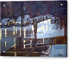 On A Night Like This Acrylic Print by Tate Hamilton