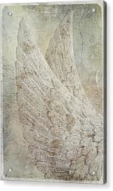 On Angels Wings 2 Acrylic Print