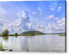 On August Afternoon Acrylic Print