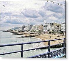 On Brighton's Palace Pier Acrylic Print