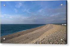 On Chesil Beach Acrylic Print