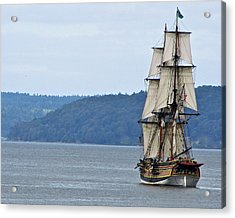 Acrylic Print featuring the photograph On Commencement Bay by Sean Griffin