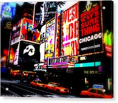 On Funky Broadway  Acrylic Print