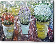 On Grandma's Porch Acrylic Print
