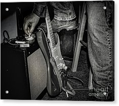 On In Two Minutes Acrylic Print by Robert Frederick