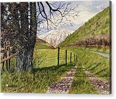 On South Fork Road Acrylic Print by Don Bosley