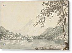 On The Aar Between Unterseen And Lake Of Brienz  Acrylic Print