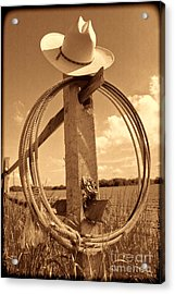 On The American Ranch Acrylic Print