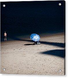 On The Beach Acrylic Print by Dave Bowman