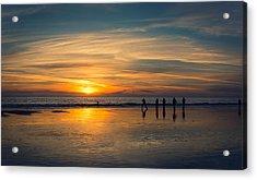 On The Beach Acrylic Print