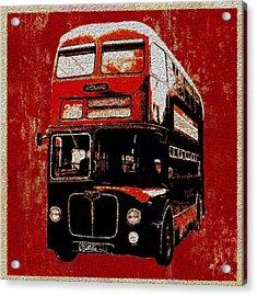 On The Bus Acrylic Print