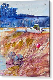 On The Foreshore Acrylic Print by Andre MEHU