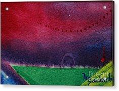 On The Horizon Acrylic Print by Ann Sokolovich