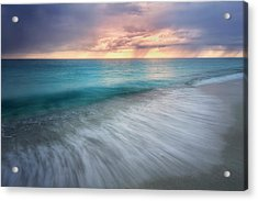 On The Horizon  Acrylic Print by Nicki Frates