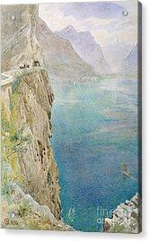On The Italian Coast Acrylic Print